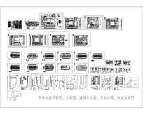 宾馆施工图CAD图纸
