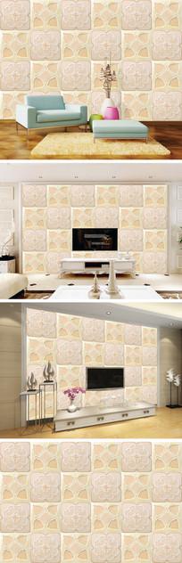 大理石纹瓷砖花纹背景墙