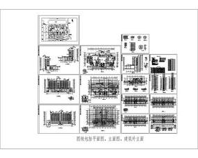 高层宾馆建筑CAD图纸