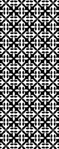 黑白新意装饰图案