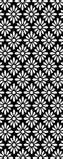 花朵点缀雕刻图案