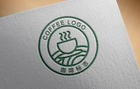小清新咖啡logo