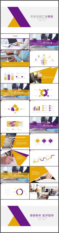 业绩前景展望创业PPT模板