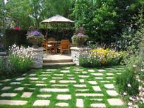 花园休闲景观