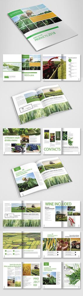 绿色农产品画册
