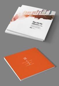 木材板材企业宣传画册封面