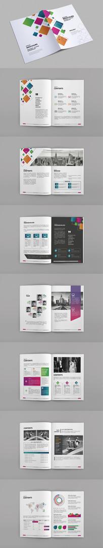 企业宣传册版式设计