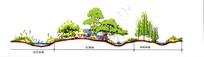 湿地公园节点立面 JPG