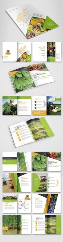 时尚农业产品画册