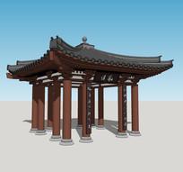 中式景观亭子