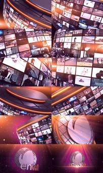 大气三维视频墙企业照片展示视频