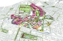 景观概念设计鸟瞰图 JPG