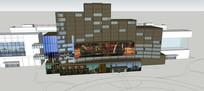 酒店及商业街区