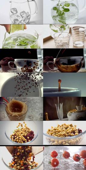 美食广告展示