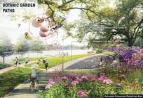 湿地公园植物种植效果图 JPG