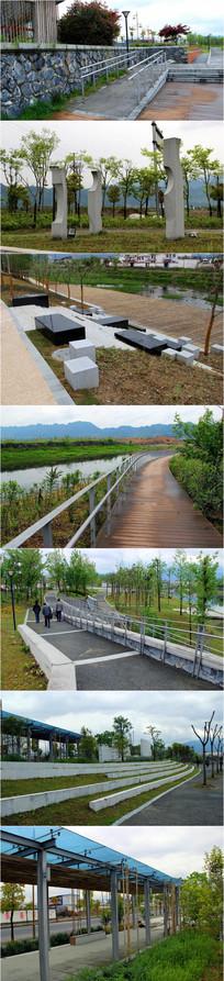 现代风格公园景观意向图