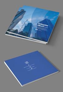 印刷设备企业画册封面设计