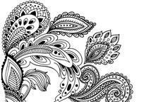 中国纹样花卉