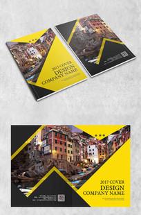 城市几何创意封面