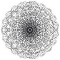 圆团图案中国古典花纹