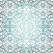 中国彩色门框背景花纹