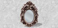 欧式花边镜子