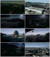 长安城皇宫视频素材
