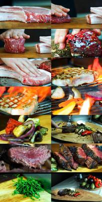 美食广告片素材展示视频
