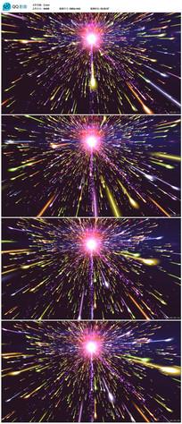 2K粒子发射视频素材素材