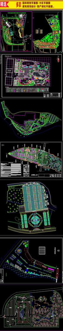 地产规划设计总平面图