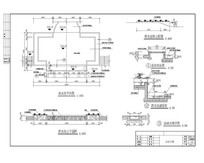 跌水池平面图 CAD