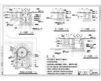 旱喷泉排水平面图 CAD