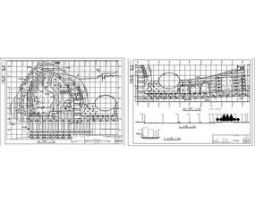 会所广场平面图