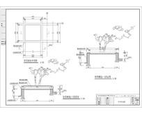 矩形树池平面图 CAD
