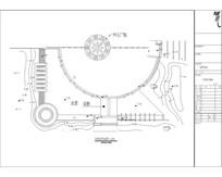 水景结构平面图 CAD