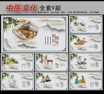中国风中医文化展板挂图