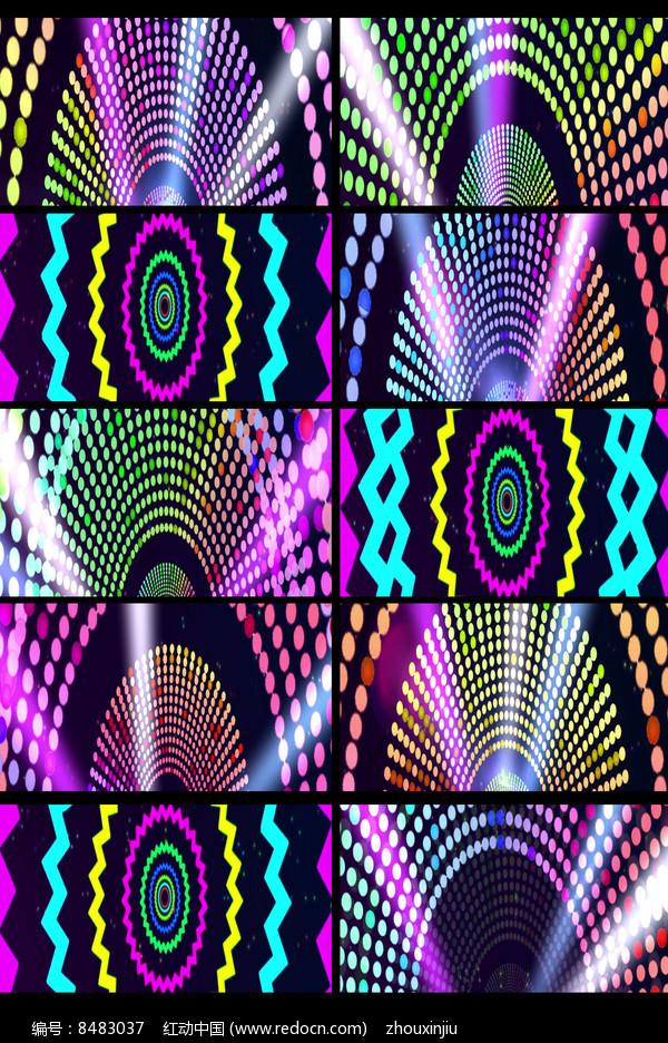 动感节奏绚丽多彩LED视频图片