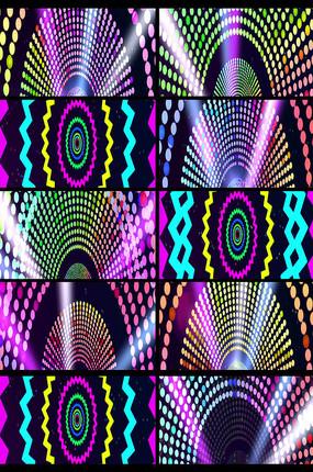 动感节奏绚丽多彩LED视频