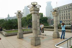 花岗岩阵列灯柱