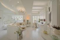 简约白色客厅空间设计