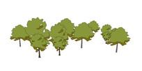 绿色植物su模型