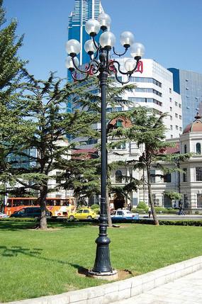 欧式街边照明灯具