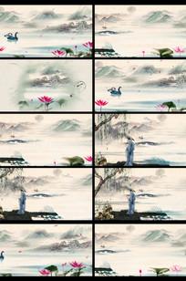 诗词歌赋中国风背景视频