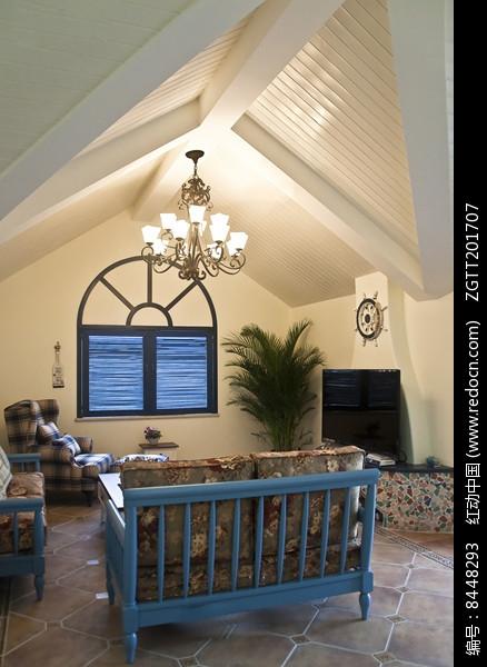 休闲别墅室内设计图片