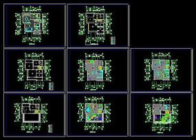 别墅及屋顶花园施工图