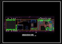 别墅园林景观平面图 CAD