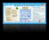 防溺水宣传栏展板
