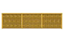 个性编制纹理围栏