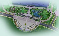 公园景观规划设计方案彩平