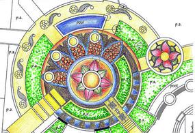 广场铺装设计平面图